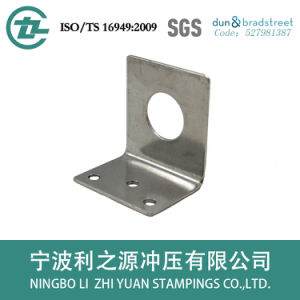 Customized Galvanized Sheet Metal Bracket pictures & photos