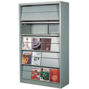 5 Layers Library School Office Applied Magazine Bookshelf Bookcase pictures & photos