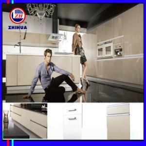 Pure White Colour Kitchen Cabinet (FY065) pictures & photos