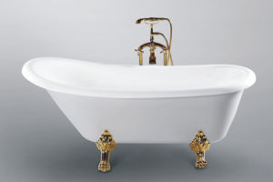 Cupc Approved Classic Clawfoot Bathtub (JL624) pictures & photos