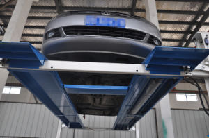 Automatic Four Post Hydraulic Car Parking Lift for Alignment pictures & photos