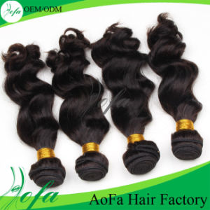 Grade 7A Quality Double Drawn Body Wave 100% Brazilian Hair pictures & photos