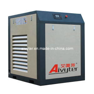 Lubricated Varible Speed (frequency conversion) High Cfm Screw Air Compressor