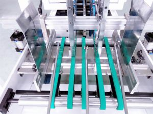 Automatic French Fry Box Folder Gluer (GK-650CA) pictures & photos