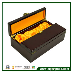 Top Quality Handmade Double Open Wooden Wine Box pictures & photos