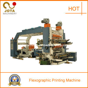 2 4 6 Color Flexo Printer Machine for Paper pictures & photos