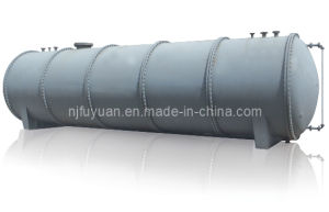 PTFE Lined Tank Horizontal Pressure Vessels pictures & photos
