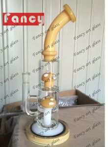 Bent Mouthpiece Glass Smoking Water Pipes for 600g 12inch Glass Water Pipe pictures & photos
