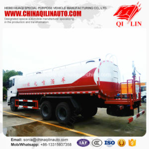 JAC 6X4 Right Hand Drive 20cbm Water Tank Truck pictures & photos