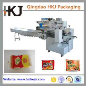 Double Servo Automatic Pillow Type Instant Noodle Packaging Machine pictures & photos