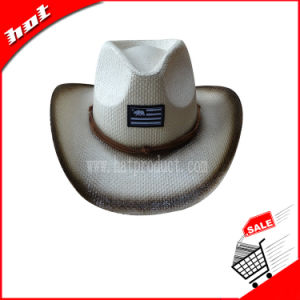 Cowboy Hat Straw Hat Promotion Straw Hat pictures & photos