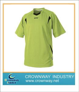Men Dry Fit Soccer Jersey Football Shirt with Digital Printing pictures & photos