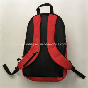 2017 Fashion Sport Laptop Backpack School Bag Travel Hiking Camping Business Promotional Backpack (GB#20001) -Red pictures & photos