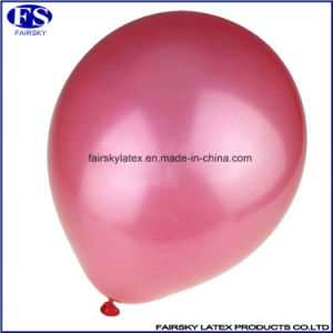 China Wholesale Balloons 10 Inch Pearl Latex Balloon Metallic Balloon pictures & photos