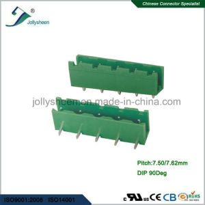 Pluggable Terminal Blocks pH7.5mm 5p DIP Right Angle pictures & photos