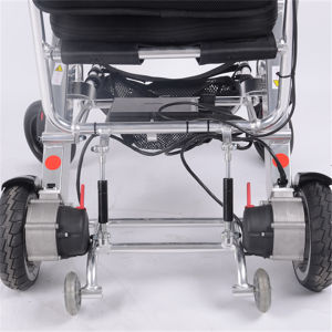 Lightweight Folding Power Wheelchair pictures & photos