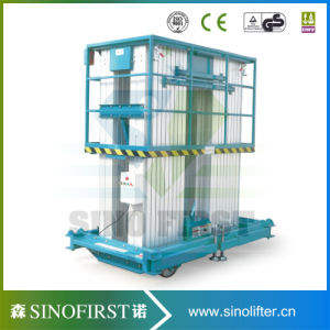 10m Removable Electric Hydraulic Towable Sky Lift Platforms pictures & photos