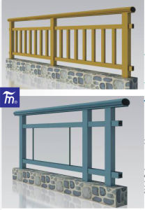 Good Quality Aluminium Profile for Handrail pictures & photos