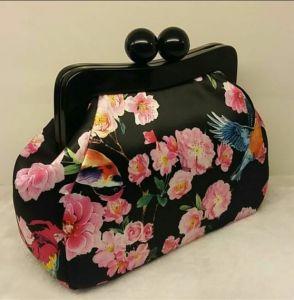 Designer Printing Fabric Evening Bag Fashion Acrylic Crossbody Bag pictures & photos