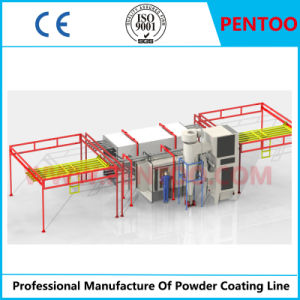 Manual Powder Coating Line for Painting Metal Products pictures & photos