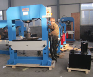 Ce Two-Speed Gantry/Bridge Workshop Hydraulic Press with Bending Function (HP-100) pictures & photos
