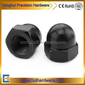 Carbon Steel DIN1587 Hexagon Dome Cap Nuts Dome Nuts pictures & photos