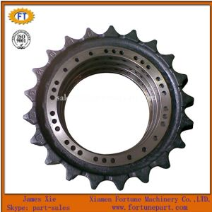 Volvo Excavator Ec210/Ec240/Ec290 Undercarriage Spare Parts Gear Sprocket Rim pictures & photos
