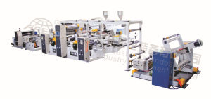 High Speed Dual-Extruder Extrusion Coating and Lamination Machine Model (SJ75-FMS800E)