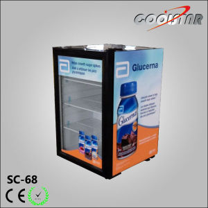 2 Cubic Feet Bar Cooler with Glass Door pictures & photos