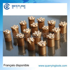 Tungsten Carbide Taper Button Drill Bits for Rock Drilling pictures & photos