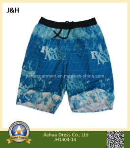 Mens Printed Summer Swimming Beach Shorts