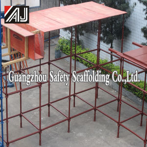 Q235 Quick Lock Scaffolding System, Made in Guangzhou pictures & photos