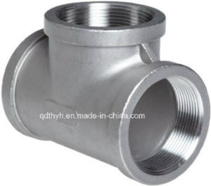 Stainless Steel Pipe Fitting-Cast Tee pictures & photos