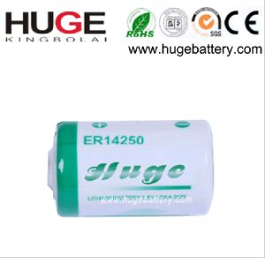 3.6V 1/2AA Lithium Thionyl Chloride Li-Socl2 Battery (ER14250) pictures & photos