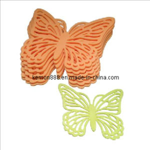 Set of 6PCS Coaster, Butterfly (61686)