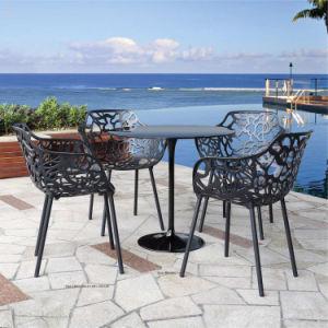 Outdoor Cafe Garden Metal Black Iron Chair (sp-MC057) pictures & photos