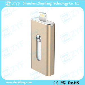 Lightning Connector USB Flash Drive for iPhone (ZYF1613) pictures & photos