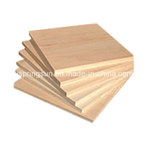 Poplar Core Commercial Plywood pictures & photos