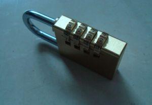 Brass Combination Lock/Code Lock 4 Dials Padlock (110384) pictures & photos