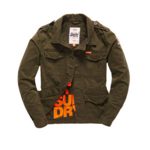 2016 Wholesale Washed Cotton High Quality Deign Men′s Military Jacket pictures & photos