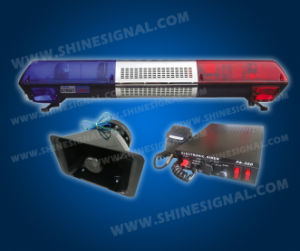 Street Hawk Rotating Halogen Light Bar with 100W Amplifier (TBD81Z2) pictures & photos