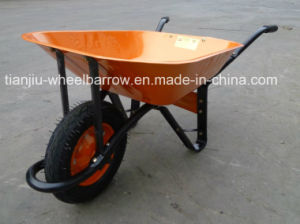 Wb6400 Construction Wheelbarrow pictures & photos