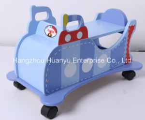 New Design Factory Supply Wooden Toys-Submarine Ride on Glide pictures & photos