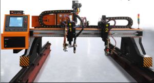 2X6m CNC Plasma Cutting Machine 32mm Plasma Cutting Thickness pictures & photos