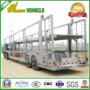 Cimc 3 Axle Loading 8 Cars Car Carrier Semi Trailer
