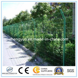 Green Cheap Welded Wire Mesh Fence/PVC Coated Wire Mesh Fence pictures & photos