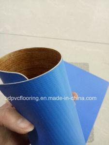 Hot Sale Linoleum 1.0mm-2.0mm Commercial PVC Flooring / Indoor Usage pictures & photos