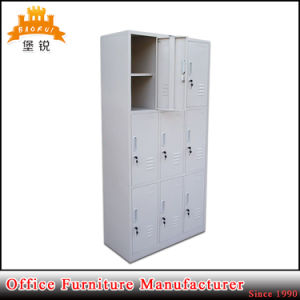 Elegant Pool School Used Cheap 9 Doors Steel Clothes Cabinet Small Metal Locker pictures & photos