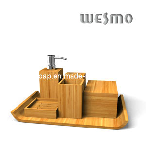 Carbonized Bamboo Fittings Bath Coordinates (WBB0615A) pictures & photos