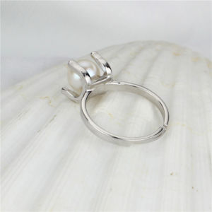 Simple Hot Sale Natural Freshwater Vintage Pearl Ring pictures & photos
